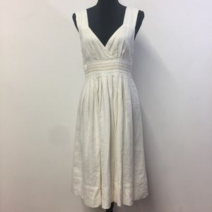 Beautiful 100% Linen Lined Sundance Dress